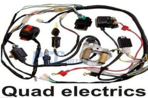 50 70 90 110CC ATV WIRE HARNESS WIRING CDI ASSEMBLY QUAD