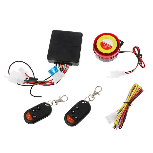 Motorcycle Bike Alarm System Anti-theft Security Remote ...