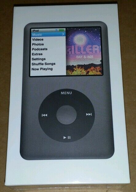 Brand New Sealed Apple iPod Classic 7th Generation Black ...