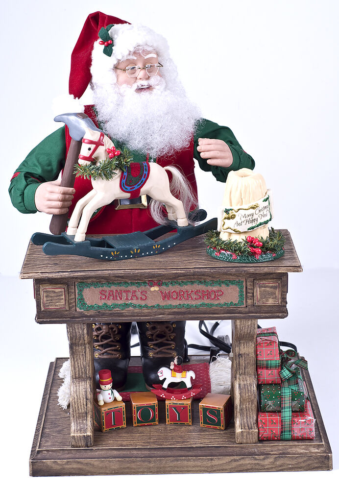Holiday Creations Animated Musical Santa Claus TOY