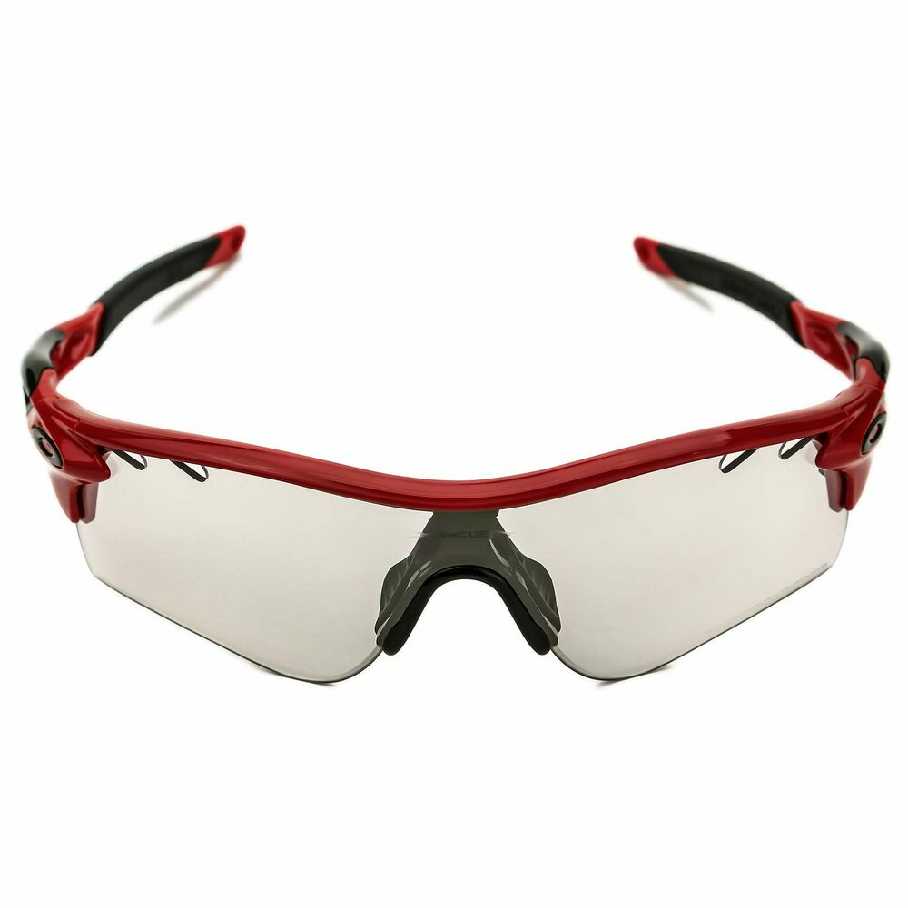 Oakley OO9181 09 Womens Red Frame Clear Black Iridium