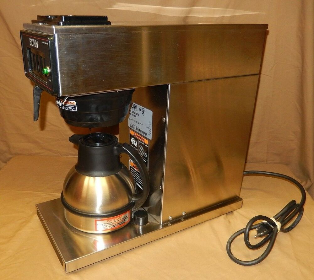 BUNN CW15 TC THERMAL CARAFE COFFEE MACHINE EBay