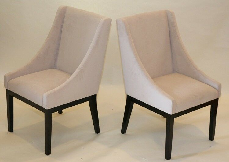 Living Room Accent Chair Set of 2 Dining Modern Armchair ...