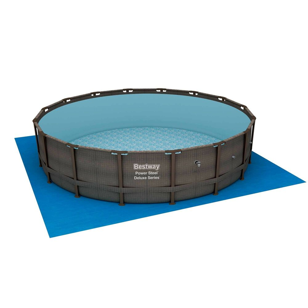 Bestway 16 X 48 Quot Power Steel Frame Above Ground Swimming