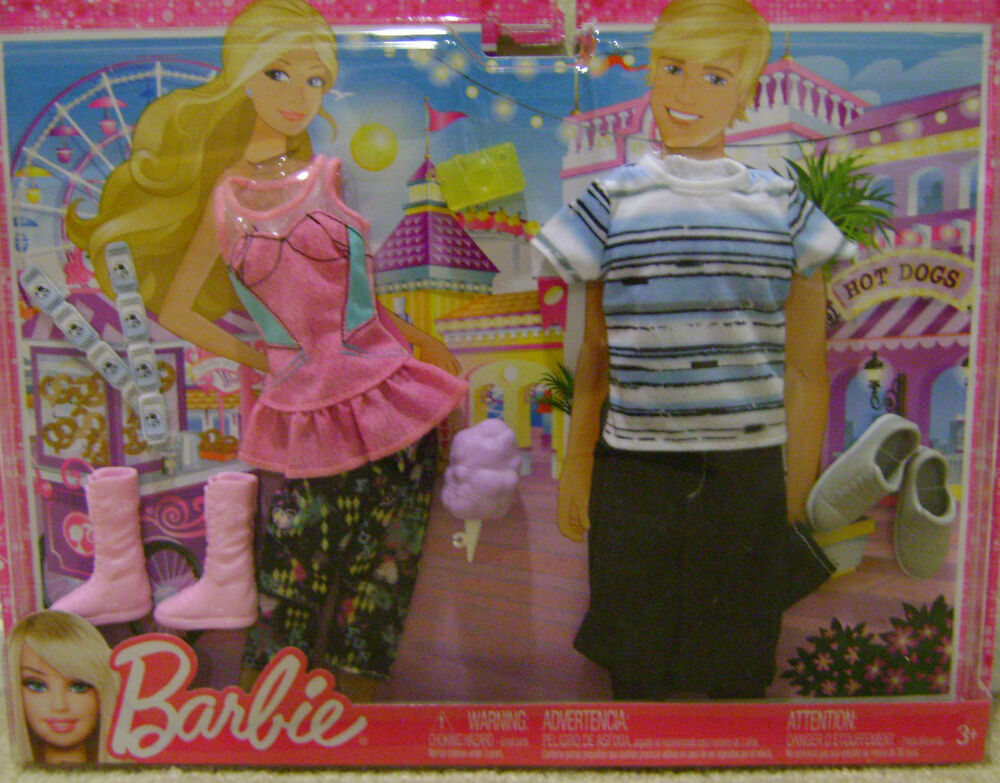 BARBIE Amp KEN FASHION CLOTHES CARNIVAL FUN DATE NIGHT