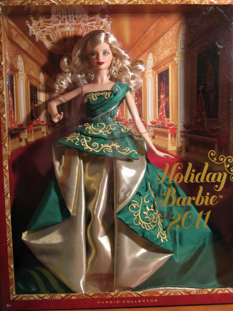 NEW IN BOX 2011 HAPPY HOLIDAY Barbie Doll COLLECTORs