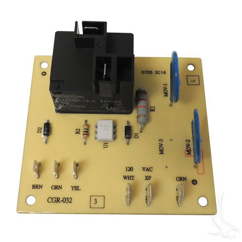 E Z Go Powerwise Charger Board Power Input