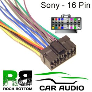 SONY MEX SERIES Car Radio Stereo 16 Pin Wiring Harness