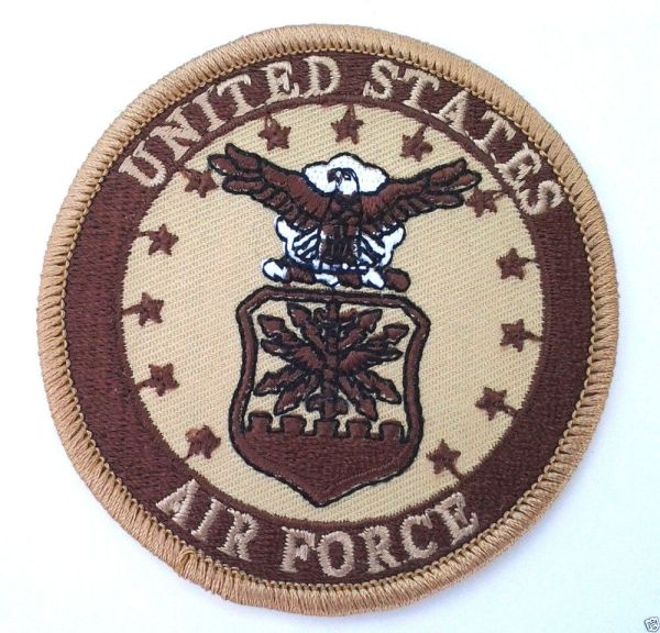 "UNITED STATES AIR FORCE Military Veteran Biker 3"" RD Patch ..."
