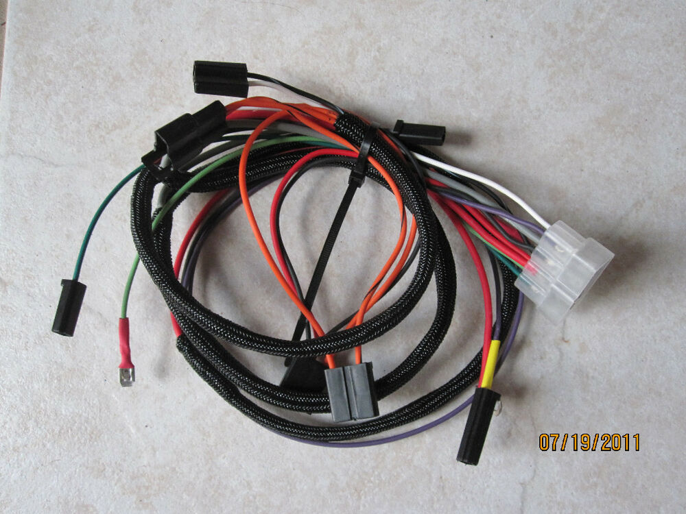 Ih Cub Lo Boy 154 Main Wiring Harness New