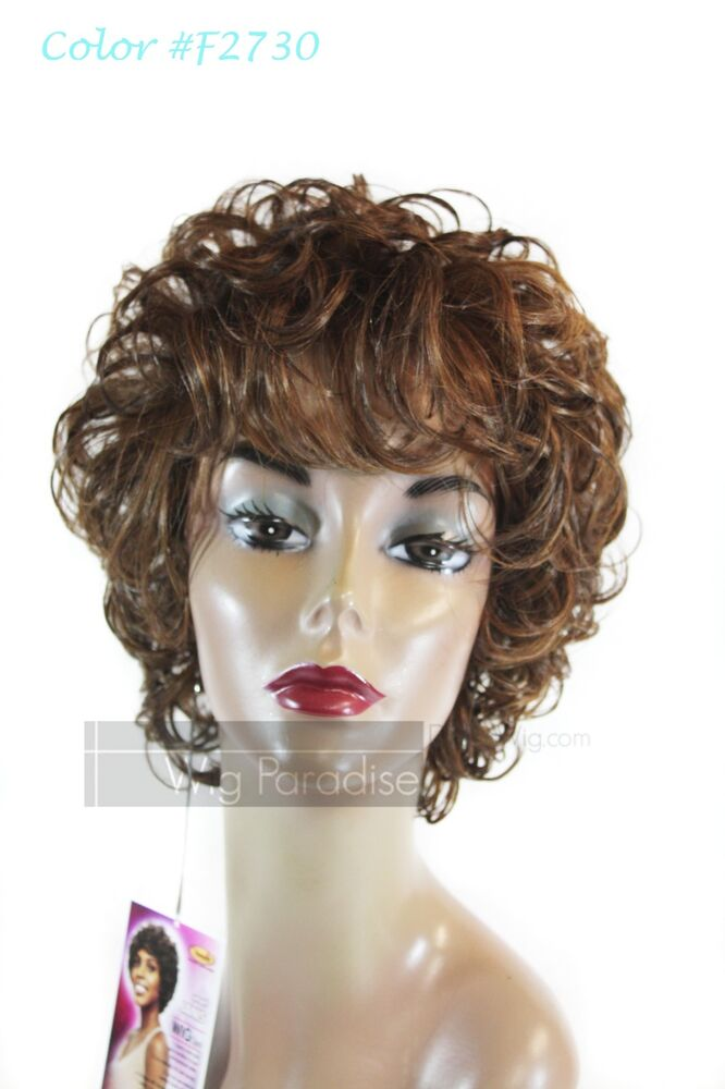 Vanessa Synthetic Full Soft Curly Style Smart Janis Wig EBay