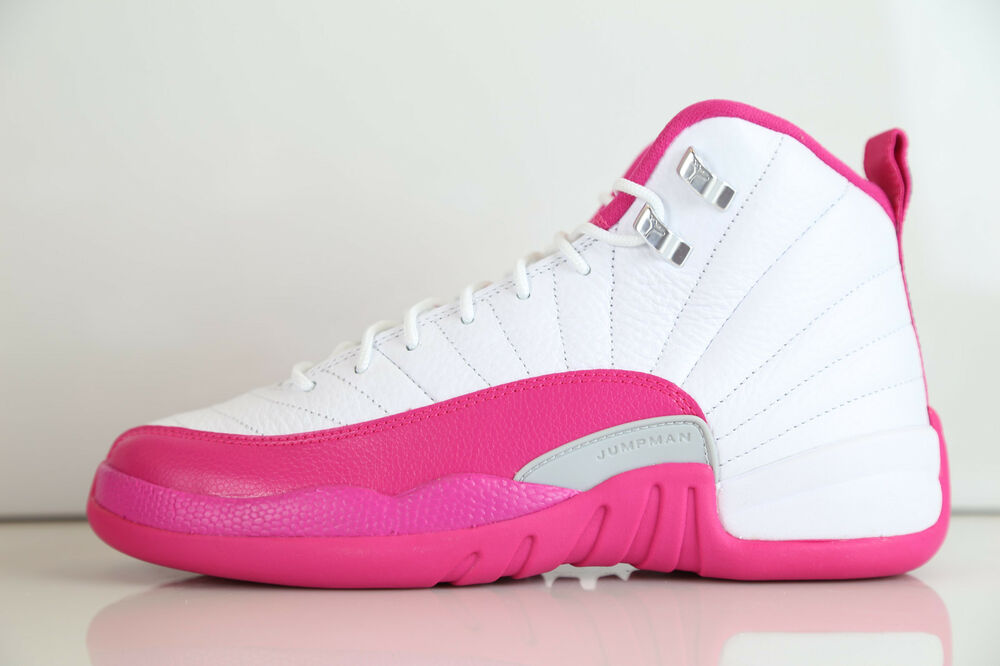 Nike Air Jordan Retro 12 Vivid Pink GG GS Girls 510815 109
