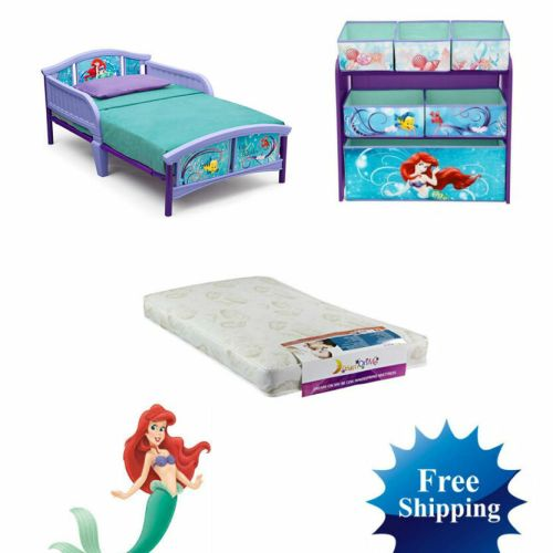 Disney Little Mermaid Toddler Bed Mattress Storage Bedroom Set. Little Mermaid Bedroom Sets   Bedroom Style Ideas