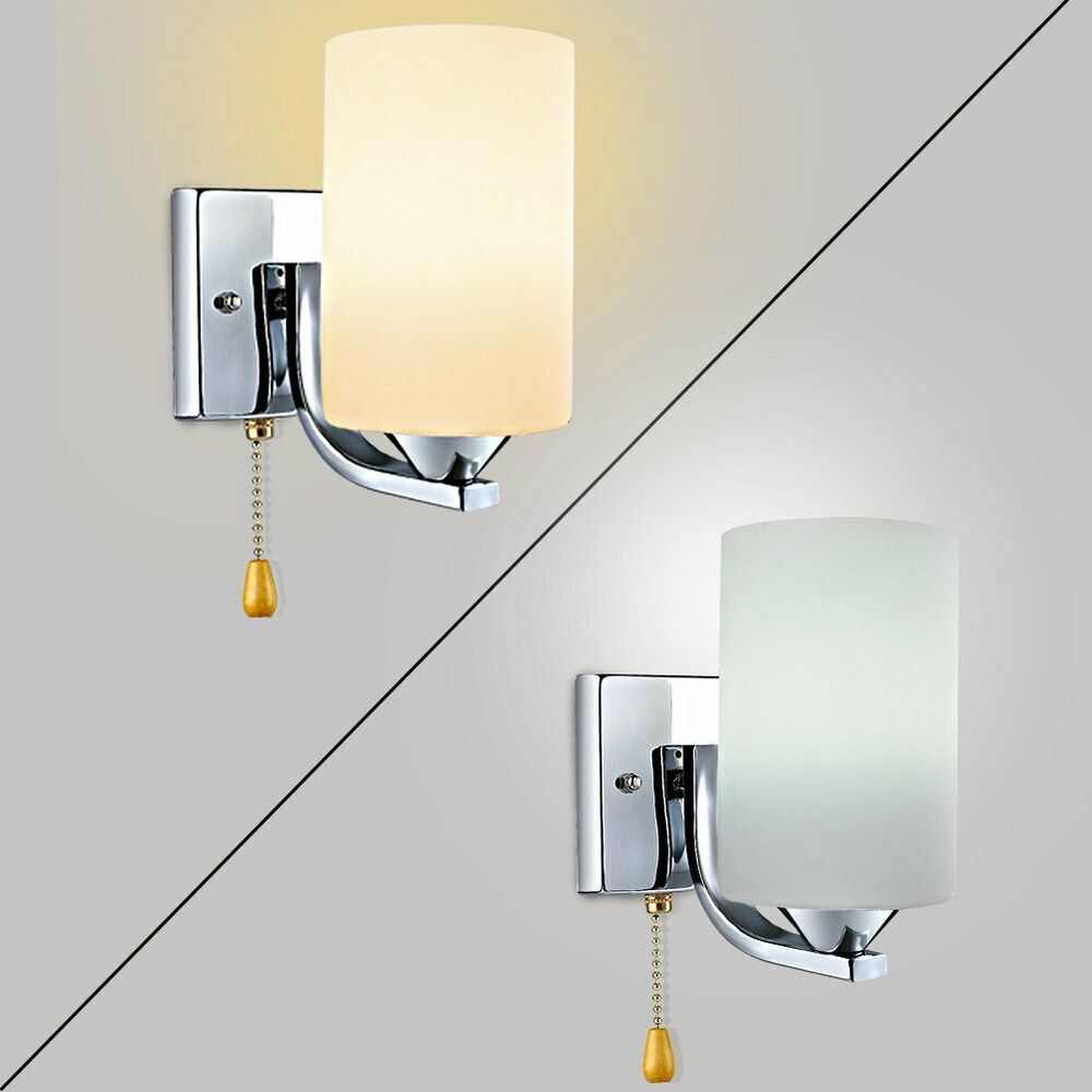 Modern Indoor Glass Wall Lights Sconce Lighting Wall lamp ... on Modern Wall Sconce Lights id=63698