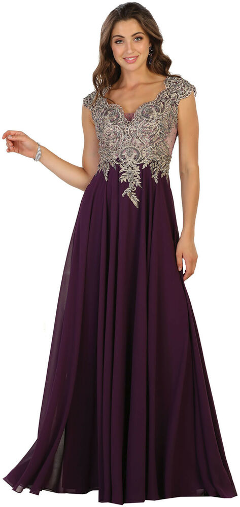 FORMAL EVENING LONG SPECIAL OCCASION PROM DRESS MILITARY ...