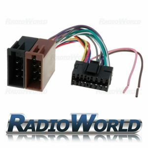 Sony 16 Pin Car Stereo Radio ISO Wiring Harness Connector