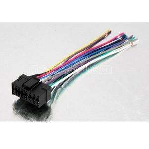 SONY CAR STEREO RADIO WIRE WIRING HARNESS CONNECTOR CABLE