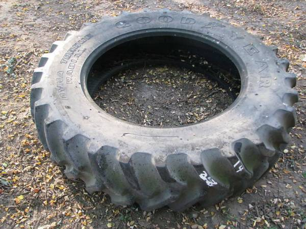 1 - 14.9x34 Goodyear Tractor Tire VG 70% *** USED #14 | eBay