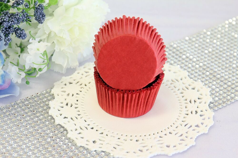 2'' Paper Cupcake Muffin Liners, Greaseproof, Baking Cups