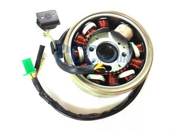 11 Coils Gy6 150cc Stator Coil Magneto Flywheel Scooter