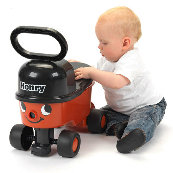 Casdon Henry Red Sit n Ride Hoover Car Vehicle Drive Boys ...