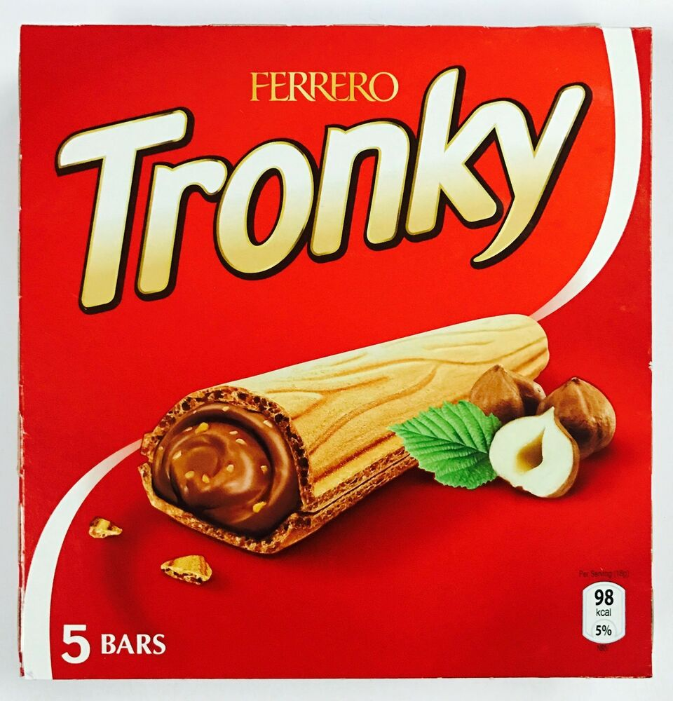 Ferrero Tronky Wafer Bar With Hazelnut And Cocoa Filling