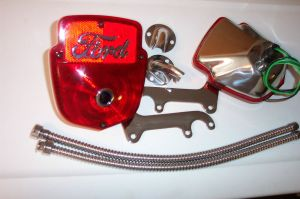 F100 ford truck tail light kit, all stainless,with two