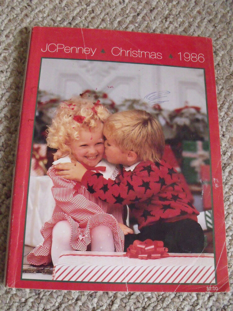Vtg 1986 JCPenney Penneys Christmas Wish Book Department