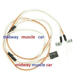 roof dome light wiring harness 67 68 69 Chevy Camaro