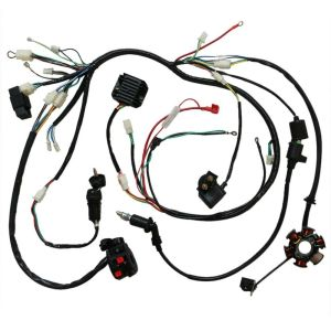 GY6 150cc Electric Wire Wiring Harness Solenoid Switch