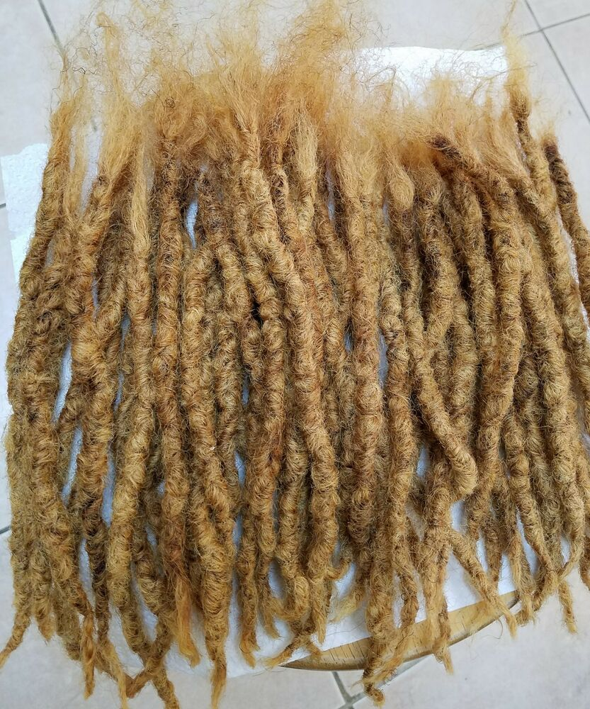33 Handmade Dread 100 Human Hair Dreadlocks About 6 EBay