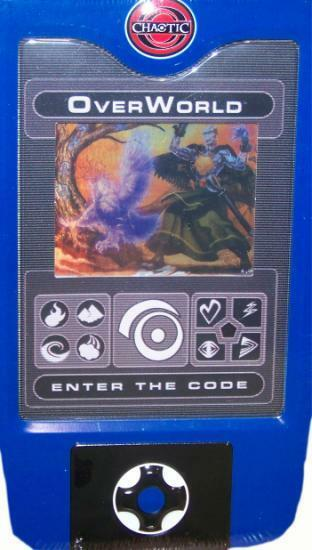 Chaotic TCG 2008 Overworld Collectible Holiday Tin Amp Scanner Deck EBay