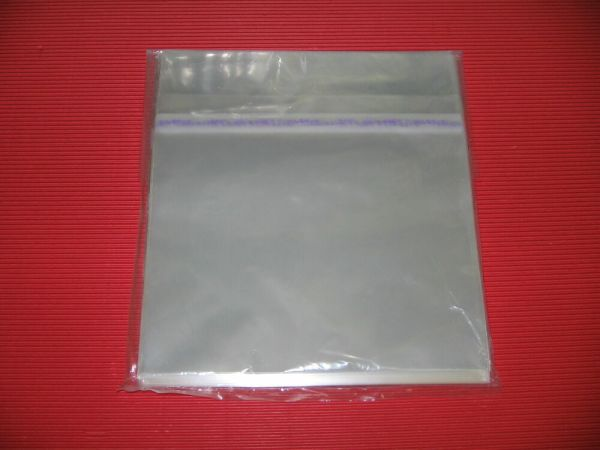 JAPAN 100 RESEALABLE PLASTIC OUTER SLEEVE BAG FOR 7 ...