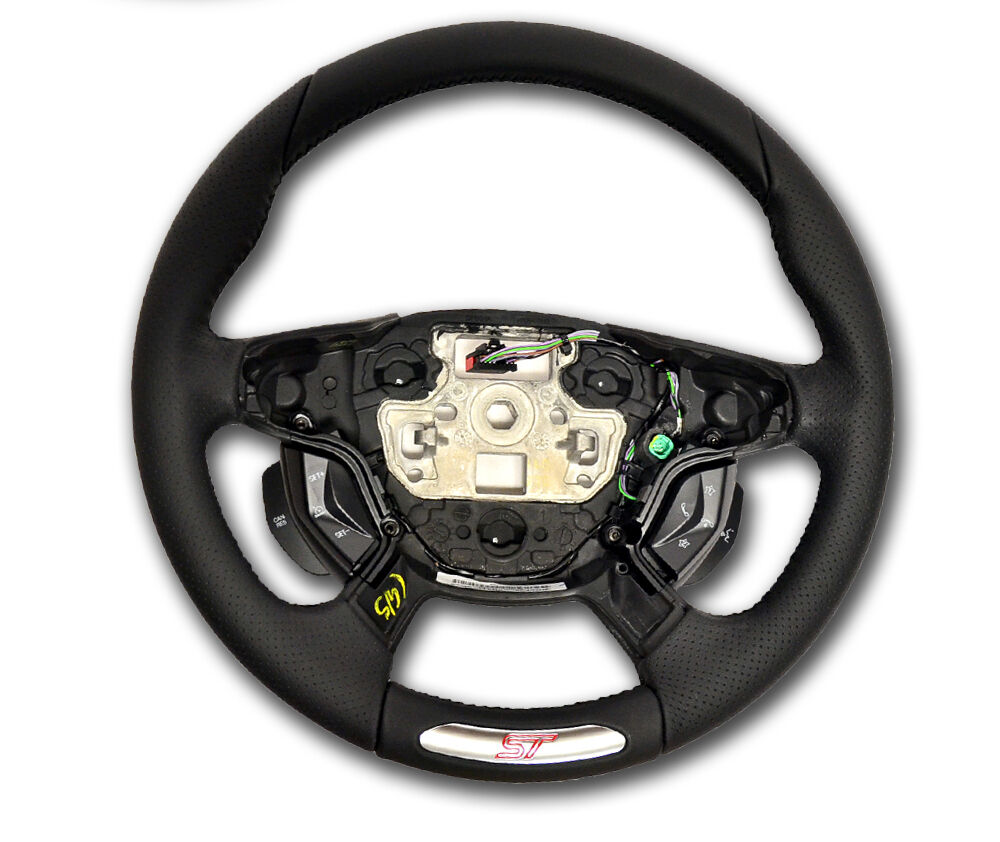 OEM NEW 2012 2013 Ford Focus ST Logo Steering Wheel WITH