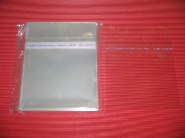 JAPAN 100 RESEALABLE OUTER PLASTIC BAG FOR JEWEL CASE CD ...