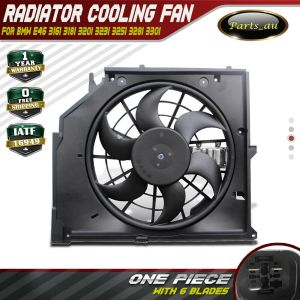 Radiator Thermo Fan for BMW E46 6 blades and with control