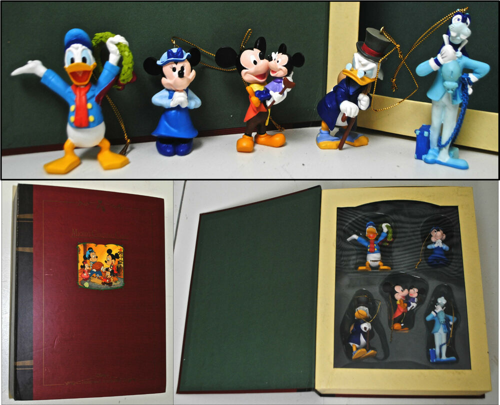 DISNEY Storybook Ornament Collection MICKEYS CHRISTMAS