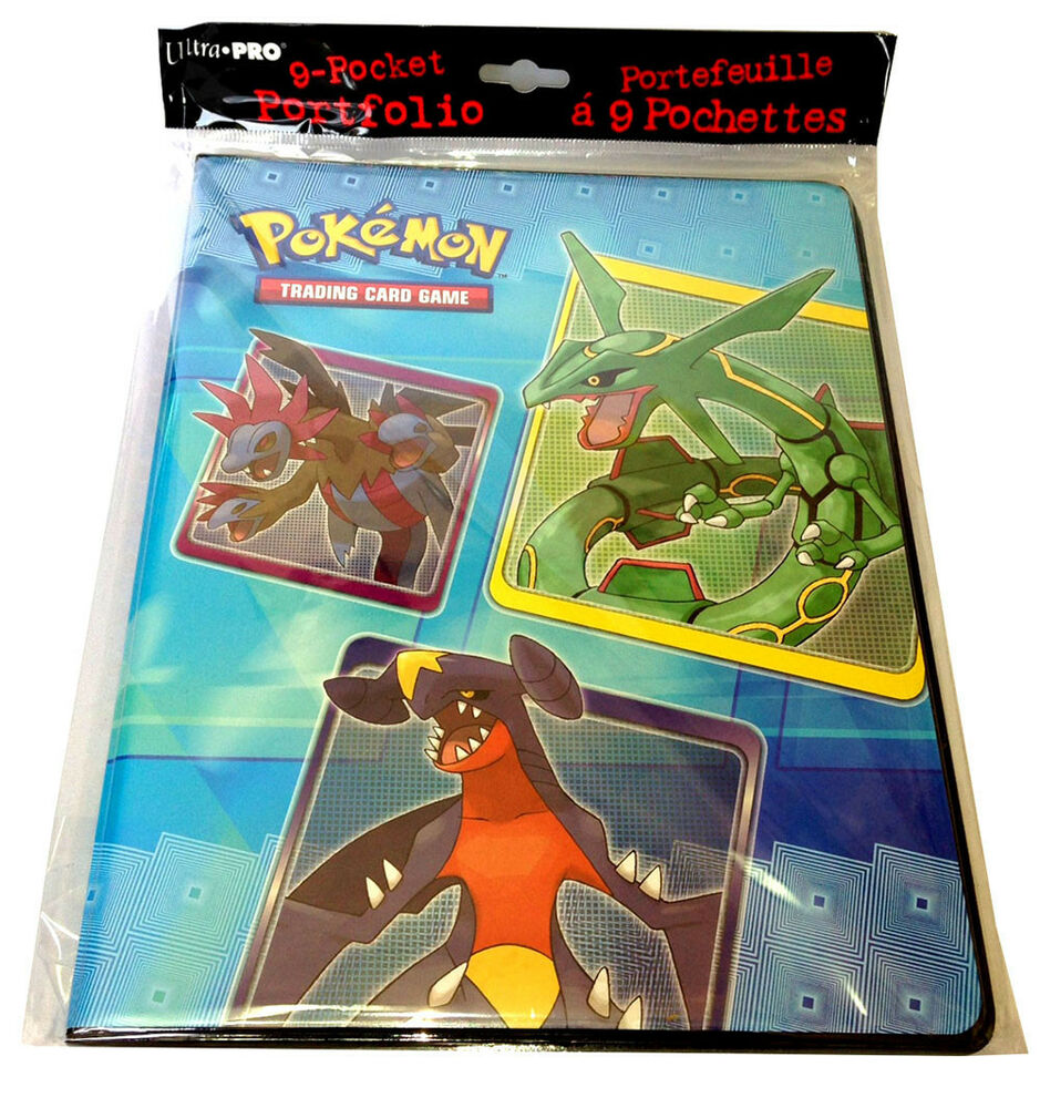 Pokemon TCG Series 6 9 Pocket Portfolio Trading Card Album Binder Rayquaza EBay