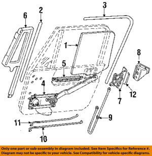 Jeep CHRYSLER OEM 9195 Wrangler Front DoorLock Latch Kit