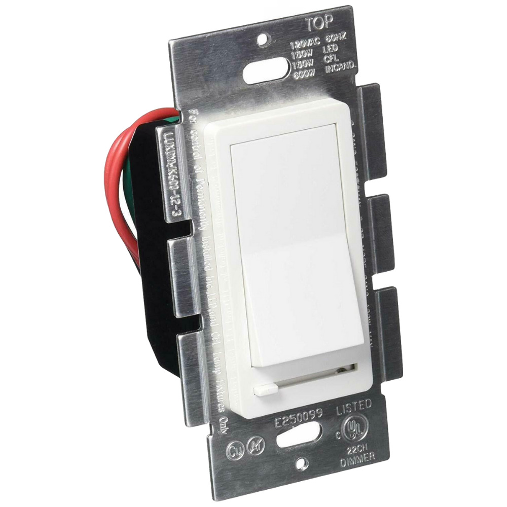 Switch Toggle Switch With Slide Dimmer For Dimmable Cfl