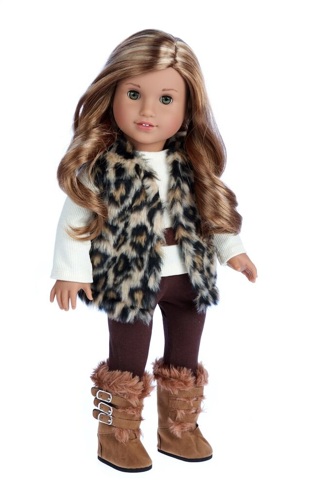 Wild Cat Clothes For 18 American Girl Doll Winter Vest