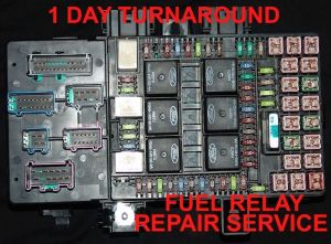 A 20032006 EXPEDITION  NAVIGATOR FUSE BOX REPAIR SERVICE