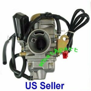 PD24 GY6 150 CARBURETOR for GY6 125cc, 150cc ATV, Scooter