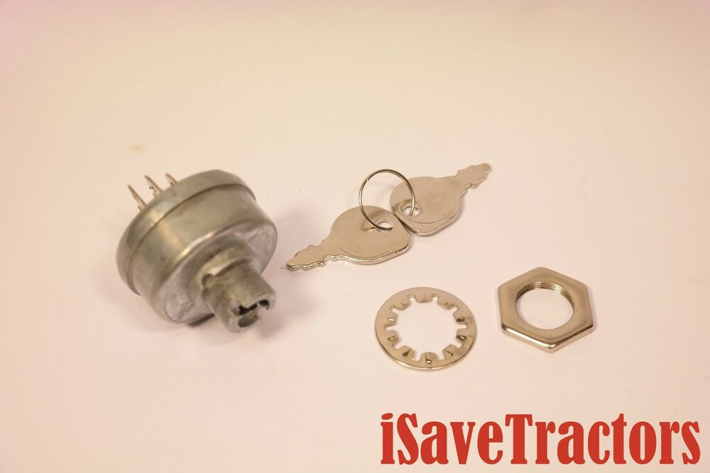 Ignition Key Switch Garden Tractor Battery Ignition Case