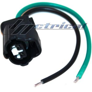 100% NEW ALTERNATOR REPAIR PLUG HARNESS 2PIN WIRE FOR