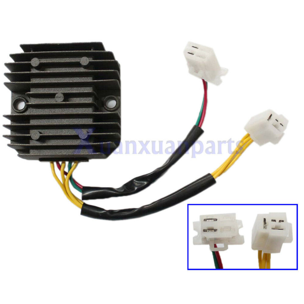 5 Wires Voltage Rectifier Regulator For 12V 3 Phase Honda