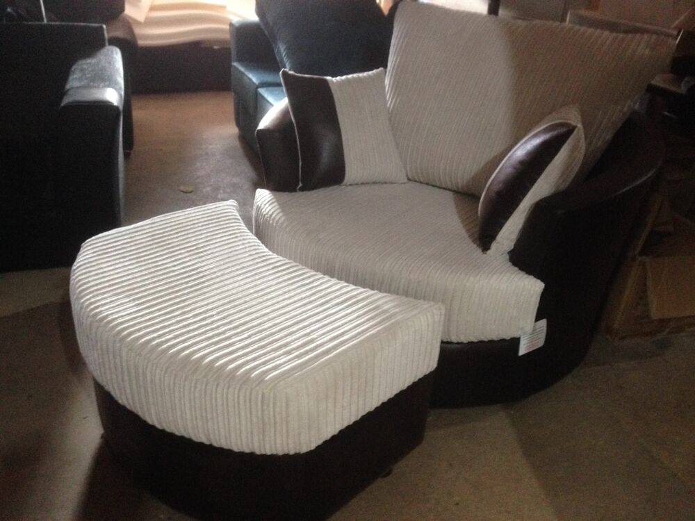 Cuddle Chair Set Love Seat Cuddler Chair Swivel Chair