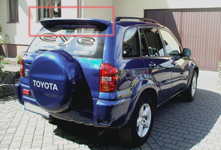 Toyota Rav4 Rav 4 3d And 5d 2002 Rear Roof Spoiler Boot