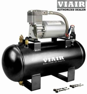 VIAIR 20003 AIR COMPRESSOR 120psi Kit 12v 15g Tank Kit JEEP JK TJ OFFROAD 4x4 | eBay