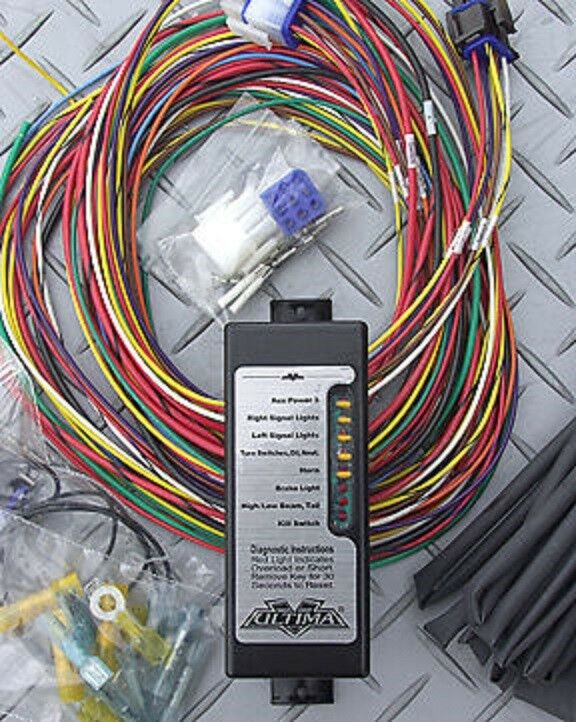 Ultima Complete Wiring System Harness Harley Motorcycle